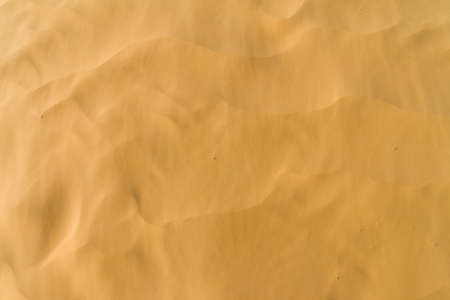 inhospitable: Wind-blown sand Stock Photo