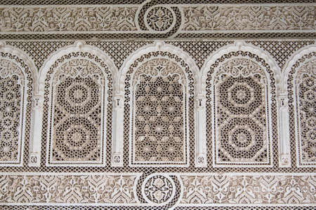 inlay: Stucco and inlay