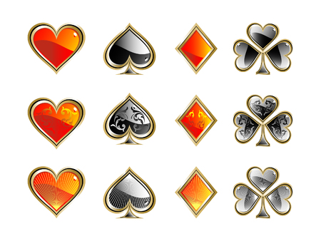 Shiny deck of cards