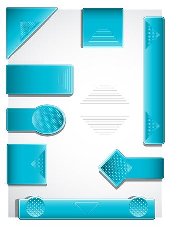 folded paper: Feedback tags Illustration