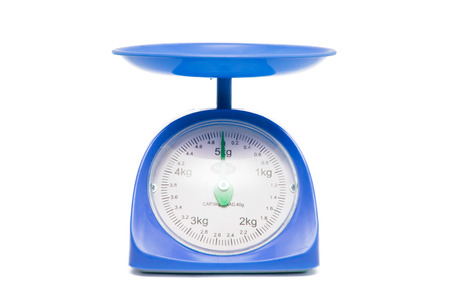 gage: weight gage scale Stock Photo