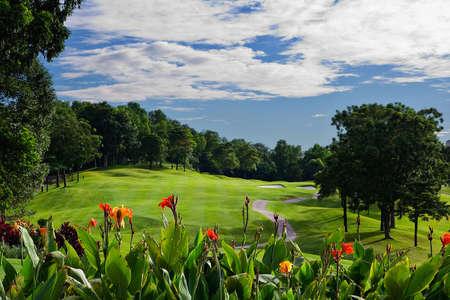 Kuala Lumpur Golf Country Club, Malaisie Banque d'images
