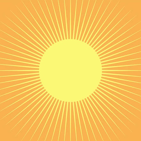 Sunlight abstract background. Sun beam ray sunburst pattern background. Vector.
