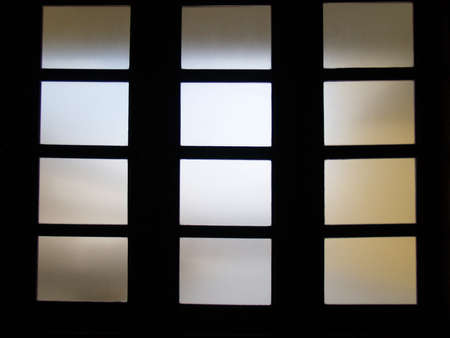 abstract window with shadow photo