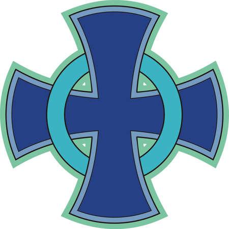 Croce celtica Archivio Fotografico - 21601291