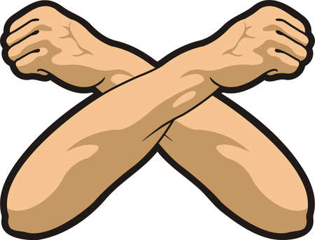 mani incrociate: Mani incrociate