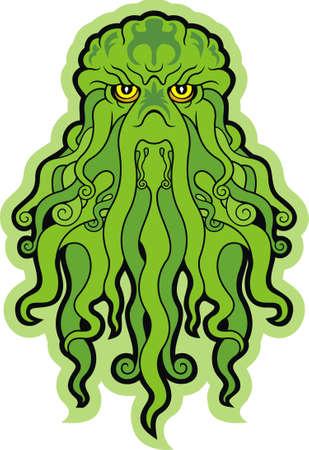 mutant: Monster Cthulhu Stock Photo