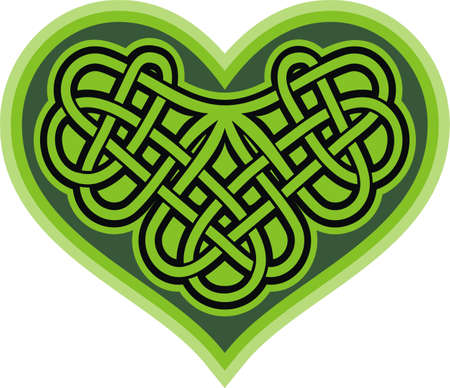 celtic symbol: Shamrock heart  Celtic symbol