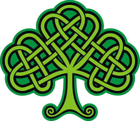 celtic symbol: Shamrock  Celtic Tattoo