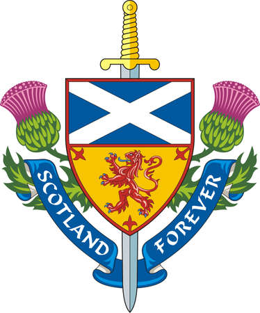 Scotland forever  Symbol of Scotland  photo