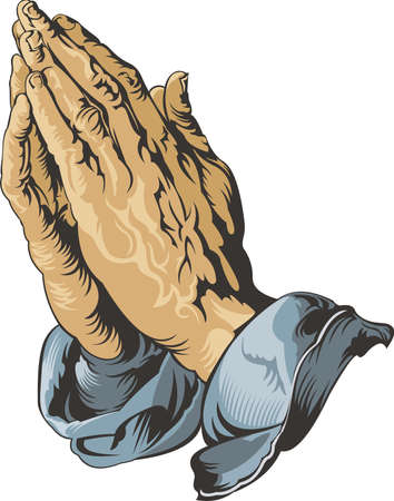 Praying Hands Durer Stock Illustratie
