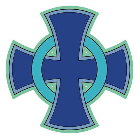 Celtic cross  Vector Vector