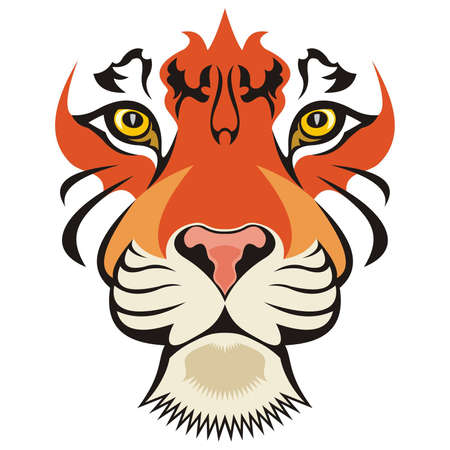 bengal: Tiger Vector