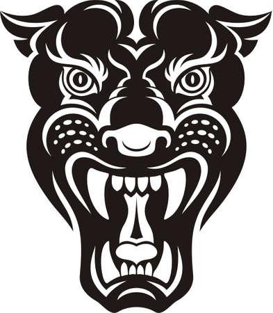 black panther: Panther tattoo