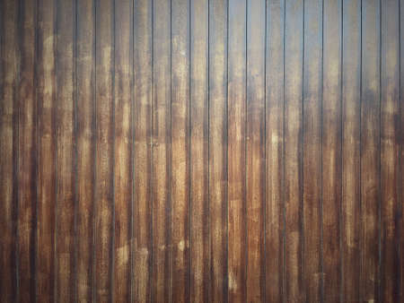 Classic brown wooden plank pattern background. Old rustic wood wall style texture.