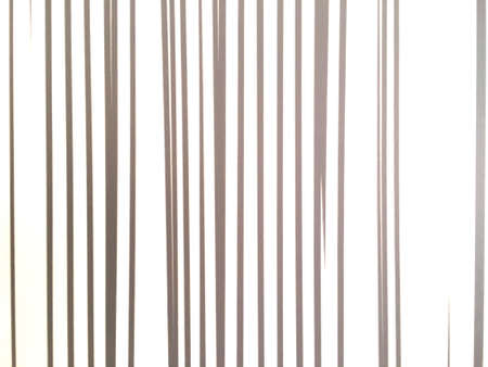 Golden vertical line abstract on white background. Art pattern of wall decoration.