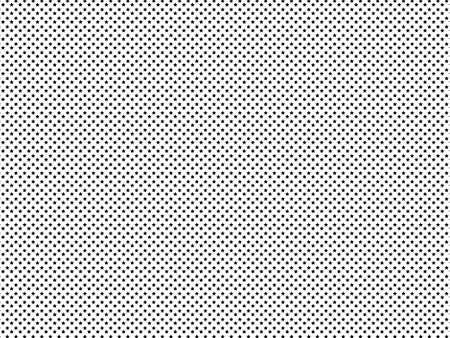 High density black stars pattern seamless isolated. Monochrome on white background Фото со стока