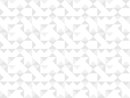 White background, texture. White and gray geometric seamless pattern. Vector background.