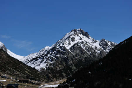 dincles peak valley in Andorra la Vella photo