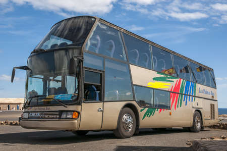 excursions: Bus for tourists that lead Excursions