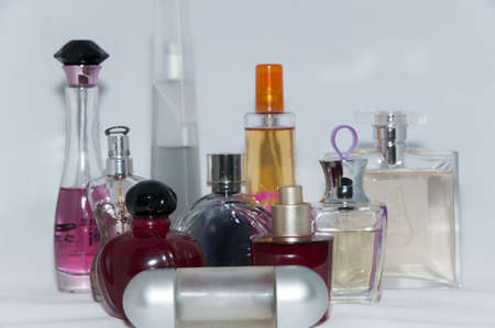 colonies of different shapes, colors and scents Editorial