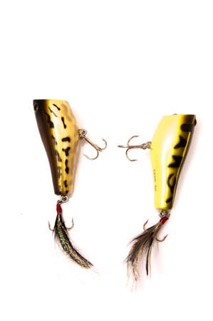 rapala: fish with hook and feather behind to catch big fish
