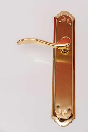 door handle golden color to blink