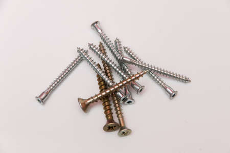long screws to screw strong colors Stock Photo - 17226840