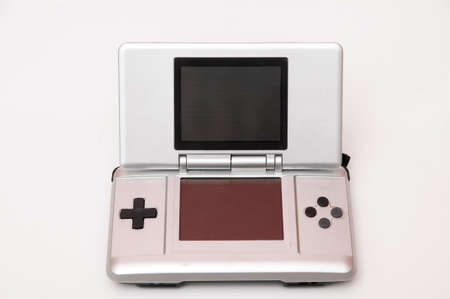 console games on a white background Stock Photo
