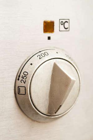temperature adjustment wheel Banco de Imagens