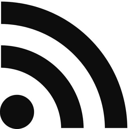 wifi: wifi point on a white background Stock Photo