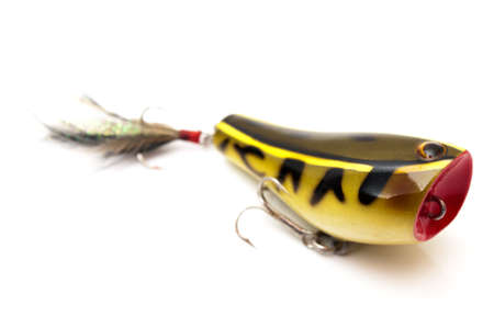 rapala: rapala fishing on a white background Stock Photo