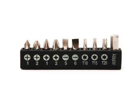 toolset: tornav�s keys on a white background Stock Photo