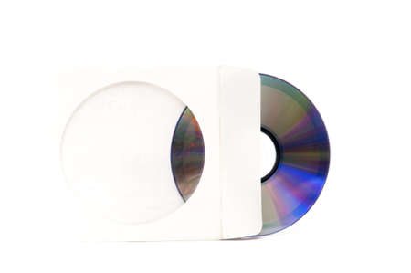 music cd packaging on a white background photo