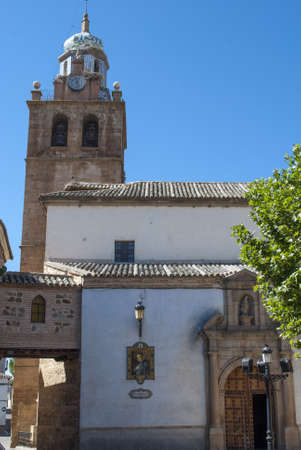 modernisme: Toledo old church where people go to pray Stock Photo