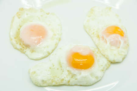quail eggs on a white background photo