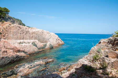 Beach Begur on the Costa Brava, Catalonia photo