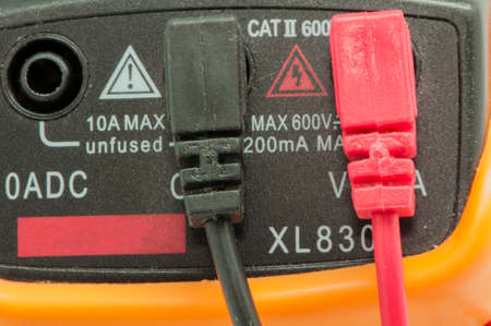 electricity meter: electricity meter testing all cables