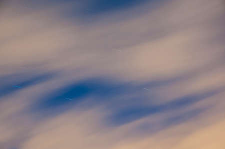 blurring: Blurring starry sky at night Stock Photo
