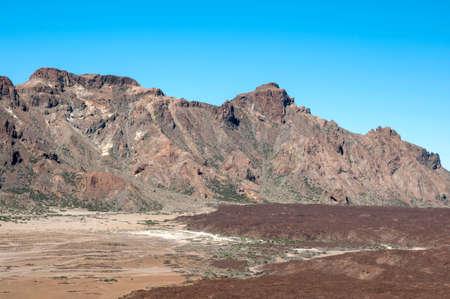 timanfaya: Parque Nacional de Timanfaya, en Tenerife, Islas Canarias Foto de archivo