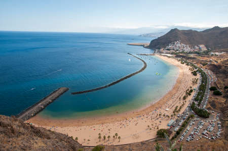 teresitas beach of Tenerife in the Canary Islands
