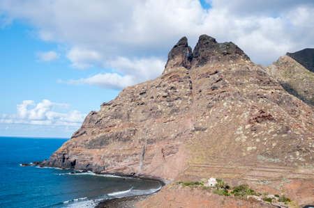 cliffs of Tenerife in the Canary Islands