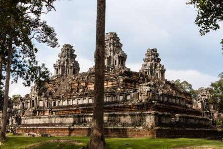 large build: Bayon Angkor temple Cambodia
