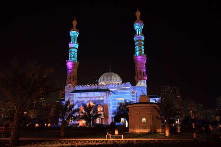 sharjah: Sharjah Mosque Festival Stock Photo