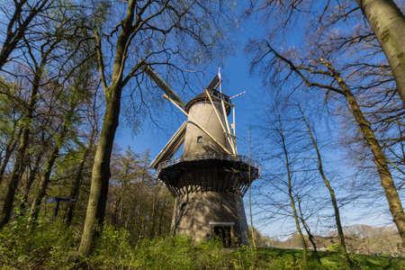 dutch: Traditional Dutch windmill