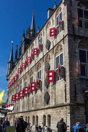 dutch culture: City Hall Gouda in Netherlands