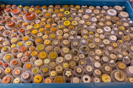 multi colour: Selection of multi colour buttons