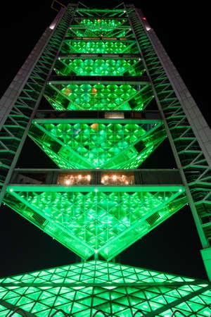 piscina olimpica: Torre de la difusión en la Villa Olímpica de Pekín de China Editorial
