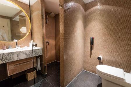 Luxury ensuite 5 star bathroom in bedroom