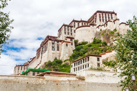 Majestic Potala Palace during spring in Lhasa, Nepal, Tibet, China